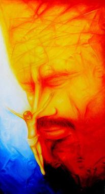 Acrylmalerei, Malerei, Abstrakt, Glaube