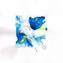 Zeichnen, Aquarellmalerei, Brust, Akt