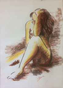Körper, Sprache, Zeichnungen,