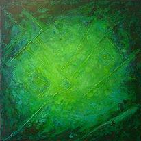 Acrylfarben, Abstrakte malerei, Mischtechnik, Fantasie