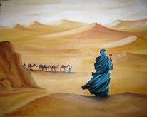 Dünen, Sand, Wüste, Araber