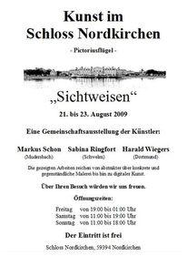 Nordkirchen, Ausstellung, Ringfort, Fotografie