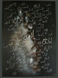 Milchstraße, Namen, Ölmalerei, Glaube