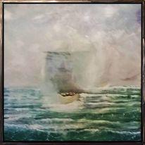 Boatpeople, Flucht, Wasser, Lampedusa