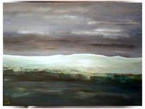 Schweiz, See, Ölmalerei, Jura