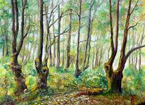 Wald, Malerei, Meine bilder