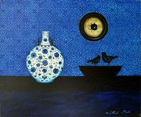 Liebe, Moonlight sonata, Geschichte, Malerei