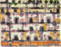 Holocaust, Stadt, 1957, Impressionismus