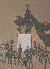 1957, Düsseldorf, Holocaust, Entartete kunst
