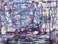 Traum, Acrylmalerei, Abstrakt, Malerei
