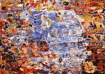 Traumland, Fantasie, Acrylmalerei, Malerei