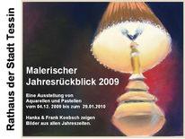 Rostock, Ausstellung, Tessin, Aquarellmalerei