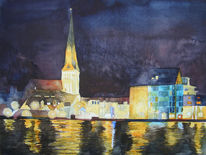 Petri, Warnow, Hanse, Rostock