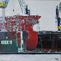 Trockendock, Blohmvoss, Werft, Hamburg