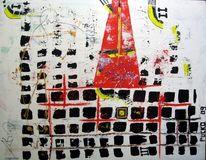 Spachtel, Acrylmalerei, Malerei, Abstrakt