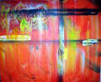 Spachtel, Acrylmalerei, Gel, Malerei
