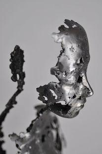 Schweißen, Metall, Eisen, Skulptur frau metall