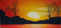 Licht, Sonne, Traum, Malerei
