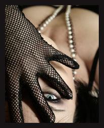 Frau, Augen, Geheimnissvoll, Hand