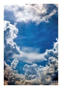 Wolken, Himmel, Sonne, Blau