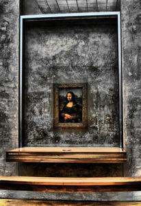 Mona lisa, Louvre, Paris, Fotografie