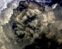 Bedrohung, Wolken, Himmel, Licht