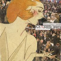 Unizeitung, Spiel, Plakatkunst, Collage