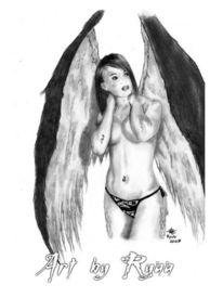 Fallen, Angel, Zeichnungen,