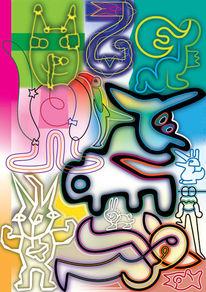 Vielfalt, Bewegung, Farben, Kreaturen