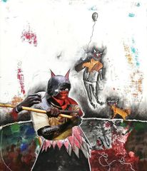 Ebola, Serie, Malerei