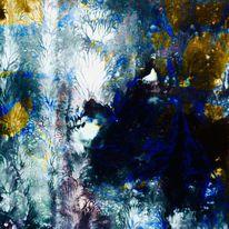 Farben, Blüte, Schatten, Gestaltung