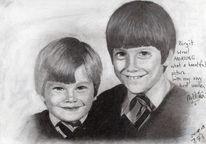 Kinder, Herr der ringe, Zeichnung, Portrait