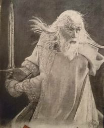 Menschen, Lotr, Gandalf, Hobbit