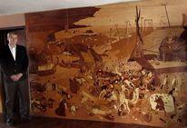 Wandbilder, Triumph, Intarsienbilder, Holz