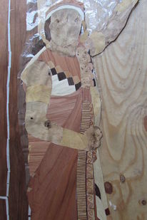 Inka, Marketerie, Machu picchu, Holz