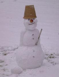 Väterchen, Frost, Schnee, Schneemann