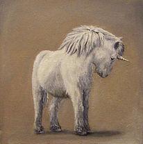 Pferde, Einhorn, Fabel, Fabelwesen