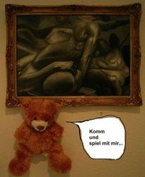 Mann, Gay, Teddybär, Akt