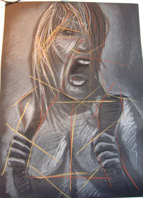 Rage, Blutrausch, Wut, Zeichnungen