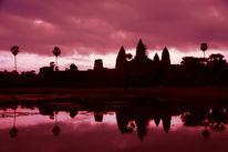 Kambodscha, Ankor, Sonnenaufgang, Wat