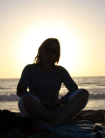 Agadir, Sonnenuntergang, Digitale kunst