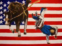 Malerei, Amerika, Politik