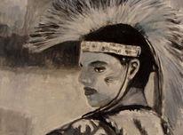Malerei, Pow, Menschen, Wicken