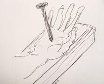 Menschen, Politik, Skizze, Zeichnungen