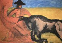Skizze, Malerei, Tiere, Geselschaft