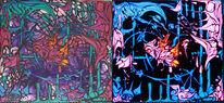 Malerei, Abstrakt, Box