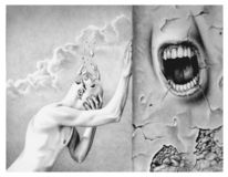 Angst, Selbstzweifel, Forsaken, Zeichnungen