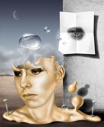 Phases, Digitale kunst, Surreal,