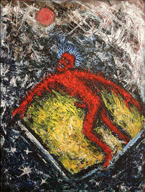 Geburt, Eroberer, Energie, Malerei