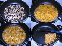 Haferflocken, Olivenöl, Hühnereier, Omelett